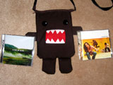 Domo-kun the music lover